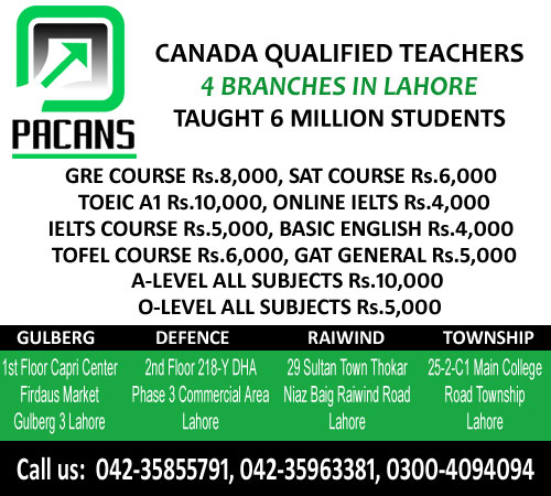 PACANS - Admissions Open