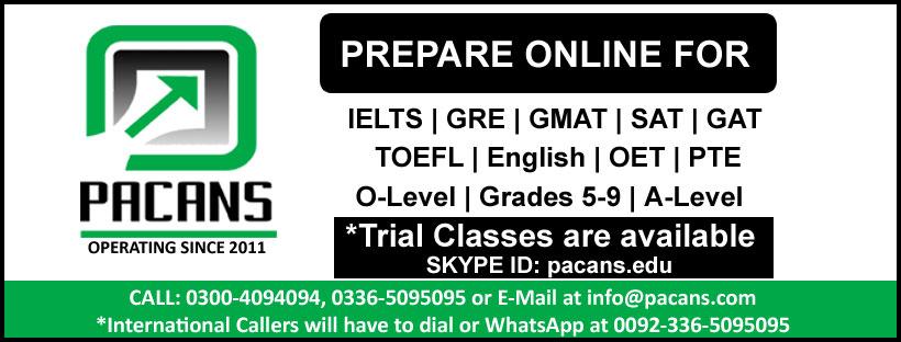 Pacans Online Courses